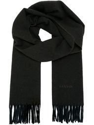 шарф с бахромой Lanvin