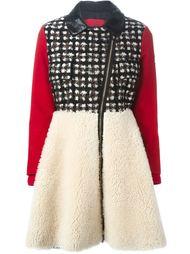 пальто с панельным дизайном  Moncler Gamme Rouge