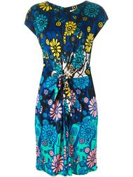 платье с узлом и цветочным принтом Issa