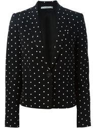 пиджак с принтом в крестик Givenchy