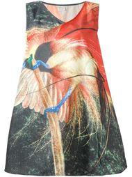 свободное платье с принтом Walter Van Beirendonck Vintage