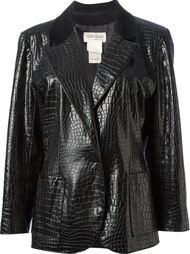 куртка из искусственной кожи Yves Saint Laurent Vintage