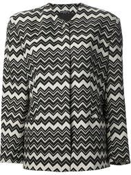 куртка с зигзагообразным узором Versace Vintage