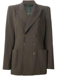 объёмный двубортный пиджак Jean Paul Gaultier Vintage