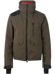 дутая куртка с контрастной вставкой Moncler Grenoble