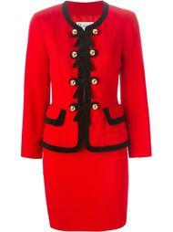 комплект из пиджака и юбки Moschino Vintage