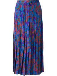 юбка в геометрический принт Jean Louis Scherrer Vintage