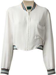просвечивающая куртка бомбер Jean Paul Gaultier Vintage