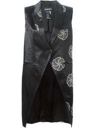 асимметричная жилетка с вышивкой Ann Demeulemeester