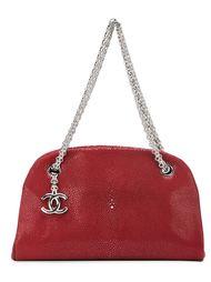 сумка-тоут в форме полумесяца Chanel Vintage