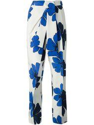 брюки с цветочным принтом Chloé