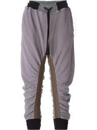 драпированные брюки на резинке  Haider Ackermann