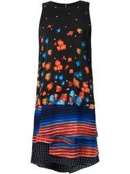 платье-шифт с многослойным подолом Suno