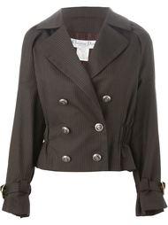 куртка в мелкую полоску  Christian Dior Vintage