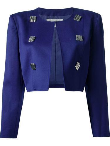костюм с укороченным пиджаком Courrèges Vintage