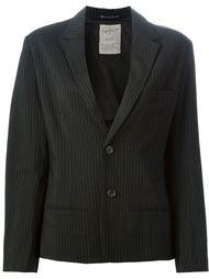 пиджак в тонкую полоску Yohji Yamamoto Vintage