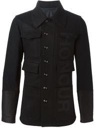 пиджак с принтом 'honour' Alexander McQueen