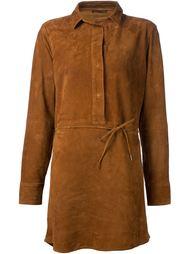 платье-рубашка из козьей кожи Rag & Bone