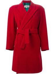 двубортное пальто с поясом Jean Paul Gaultier Vintage