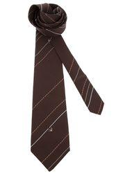 галстук в полоску Pierre Cardin Vintage
