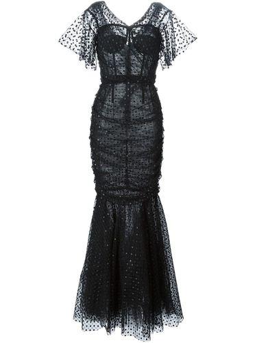 вечернее кружевное платье  Dolce & Gabbana