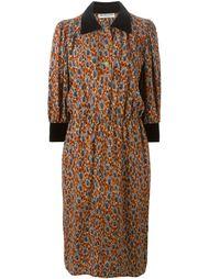платье-рубашка с принтом  Yves Saint Laurent Vintage