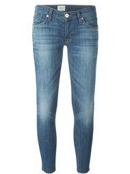 укороченные джинсы кроя скинни  Hudson