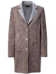 пальто с контрастными лацканами Stouls