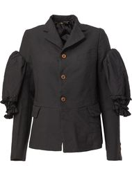 пиджак с оборками на рукавах Comme Des Garçons