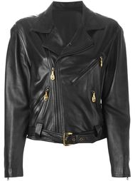 байкерская куртка  Versace Vintage