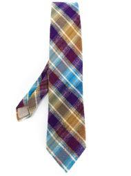 галстук в клетку Missoni Vintage