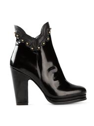 ботинки на высоком каблуке Moschino Cheap & Chic