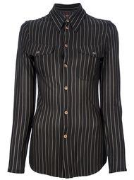 приталенная рубашка в полоску  Jean Paul Gaultier Vintage