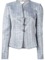 куртка с металлическим отблеском Armani Collezioni