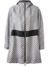 двусторонняя куртка с цепочным принтом Moncler