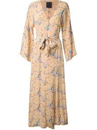 вечернее платье с рукавами кимоно Biba Vintage