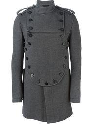 пальто в стиле милитари Ann Demeulemeester
