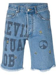 джинсовые шорты Steve J & Yoni P