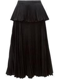 многослойная плиссированная юбка  Issa