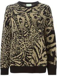 вязаный свитер  Aries