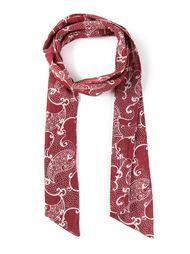 шарф с рисунком пейсли Biba Vintage