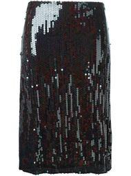 юбка с пайетками Nina Ricci