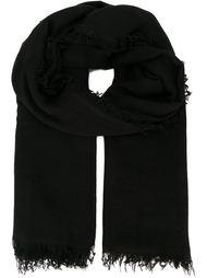 длинный шарф с необработанными краями   Ann Demeulemeester