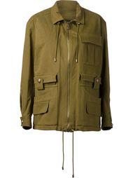куртка в стиле милитари Balmain