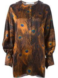 блузка с принтом  Givenchy