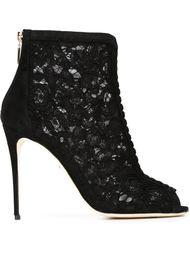 ботильоны с открытым носком  Dolce & Gabbana