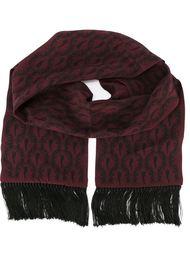 шарф с принтом эмблем Dolce & Gabbana