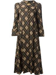 пальто в ромб Biba Vintage
