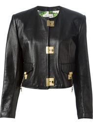 укороченная куртка с замочными застёжками Moschino Vintage