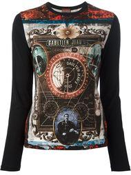 кофта с узором Jean Paul Gaultier Vintage